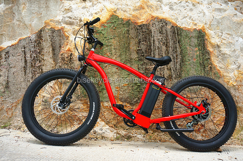 electric fat bike 26 rear drive pedelec with panasonic battery