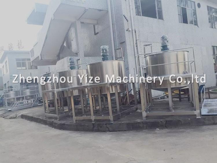 silicone mixer machine