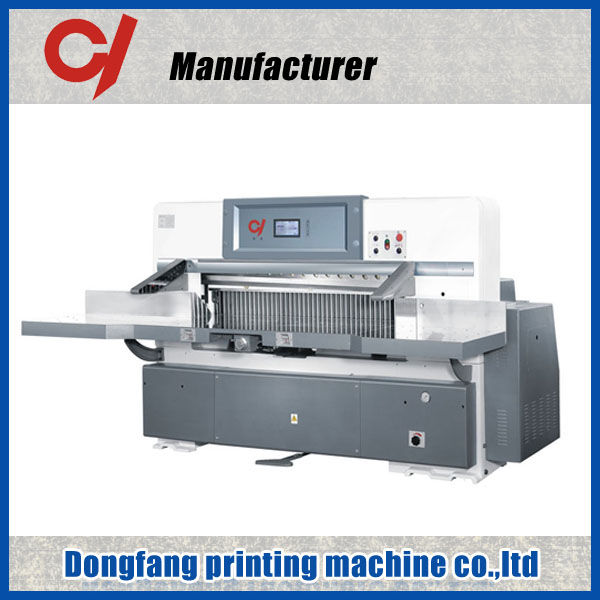 QZK 920 1300 1370 heavy duty honeycomb cardboard guillotine non woven slitting cutting machine