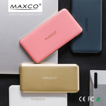 Fast Charge 8000mAh portable mobile power bank, portable powerbank, portable charger