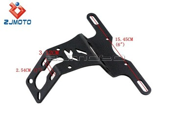 Motorcycle License Plate Bracket YZF R1 Fender Eliminator Tail Tidy Number Plate Holder 4 LED Turn  sc 1 st  Alibaba & Motorcycle License Plate Bracket Yzf R1 Fender Eliminator Tail Tidy ...