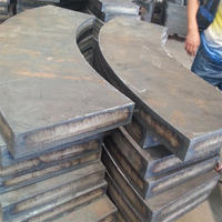 Alloy steel plate cutting