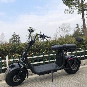 electric motorcycle with 60V 1500W motor e-scooter lead acid battery electric scooter