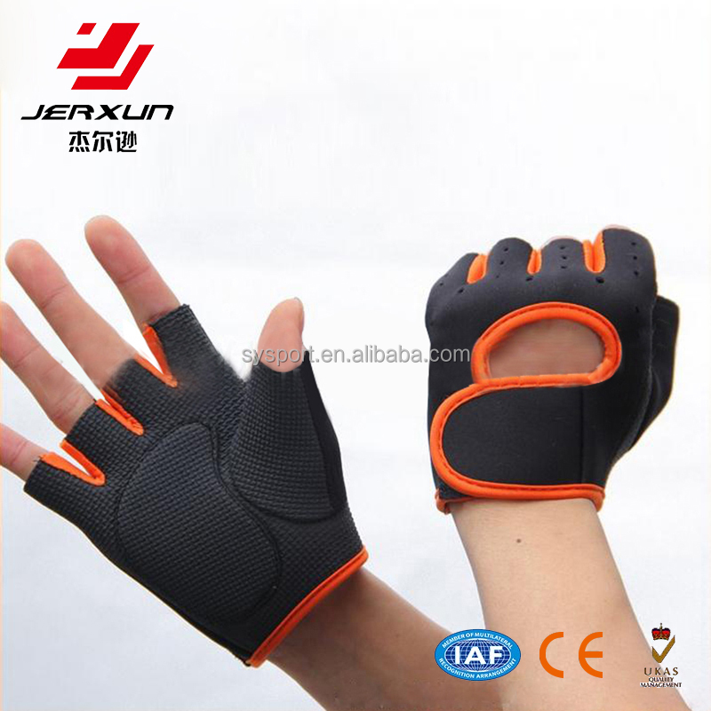 Sport neoprene weight lifting gym fitness gloves