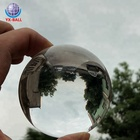 Newest amazing design 20mm-100mm crystal transparent colorful glass ball for decoration