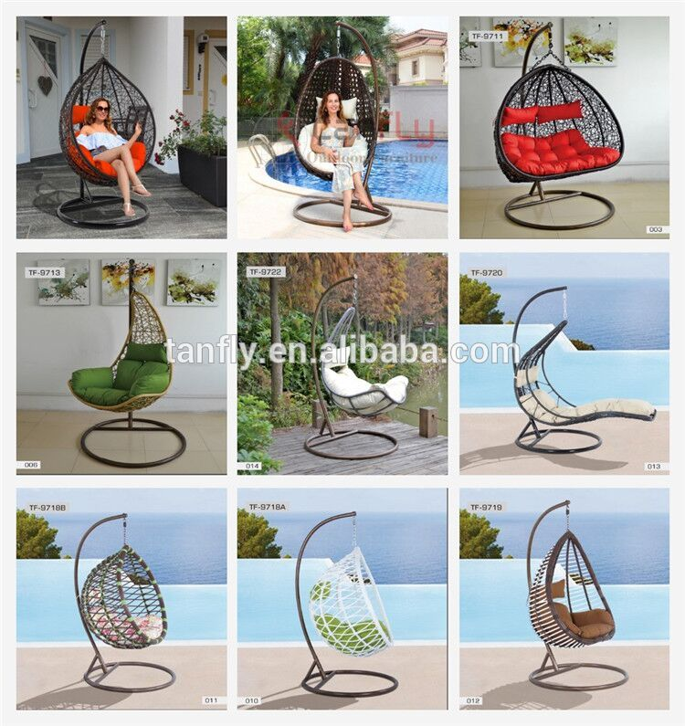 tf 9716 tanfly wicker hanging chair