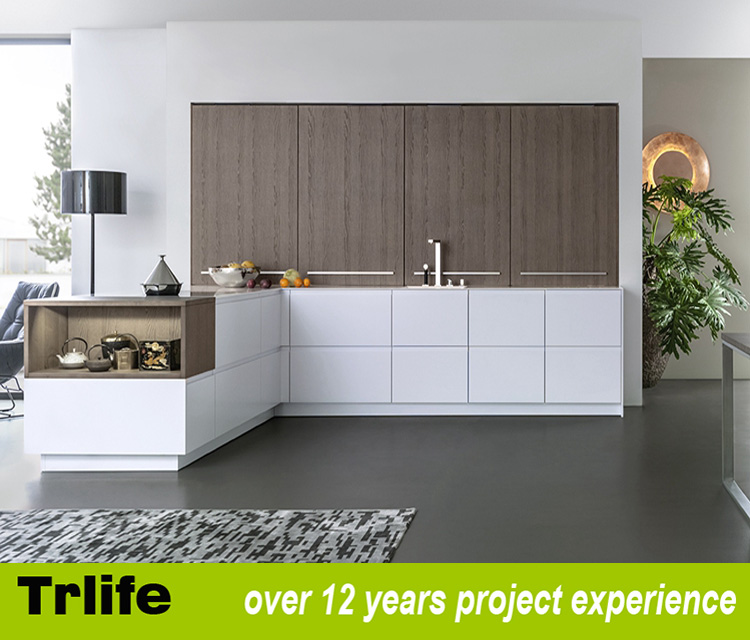 Elegante diseño del gabinete de cocina para mueble de cocina ...