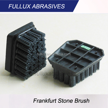 Fullux frankfurt type stone antique brush abrasive for surface grinding