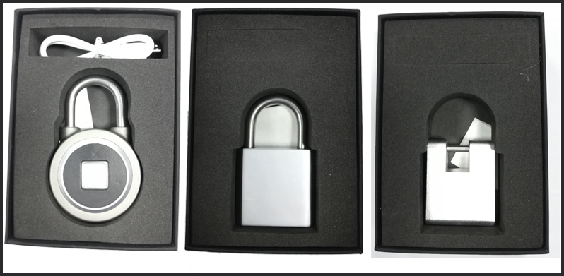 Popular Small Biometric Alarm Padlock for bike ebike