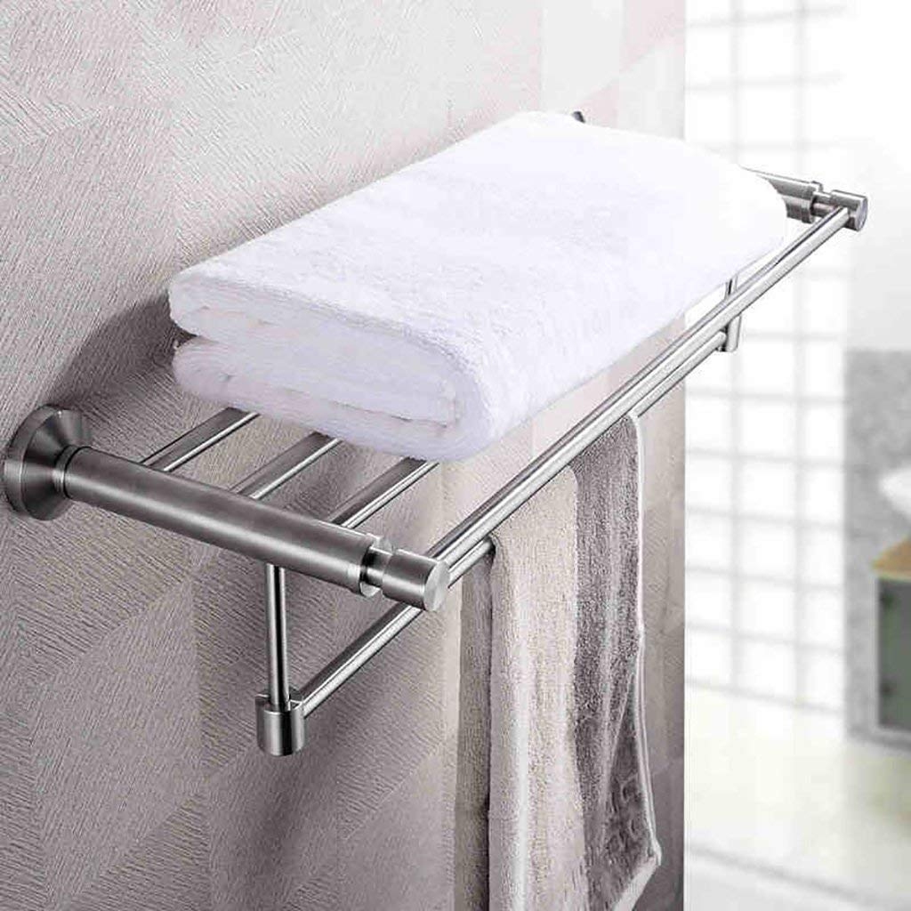 Get Quotations Eqeq Towel Rack Wall Mount Stainless Steel Single Pole Door
