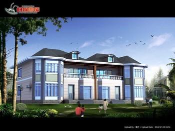 150 Meters House Design Of Lanhai Design