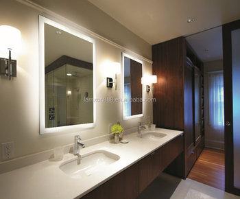 Stupendous Five Star Hotel Luxury Led Lighted Bathroom Mirror Modern Backlit Mirror Buy High Quality Modern Backlit Mirror Lighted Bathroom Mirror Led Backlit Download Free Architecture Designs Scobabritishbridgeorg