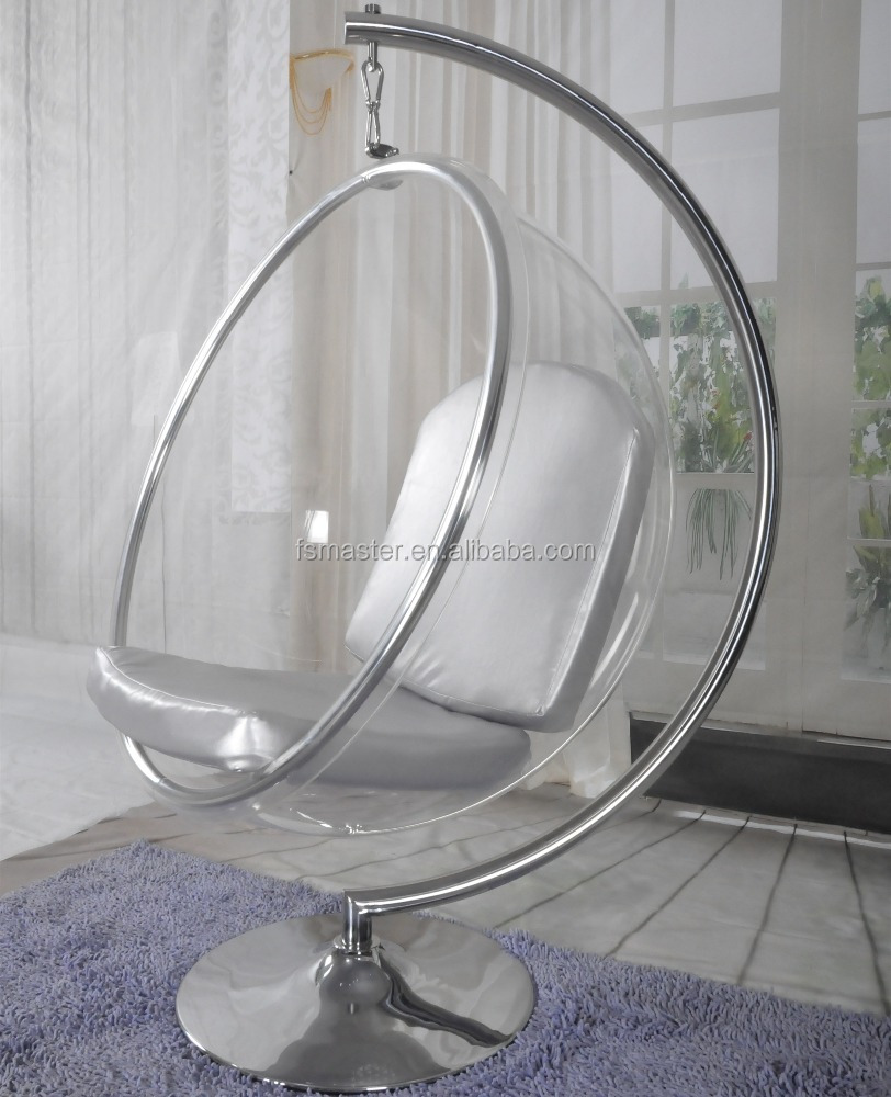 Cheap Clear Acrylic Hanging Bubble Chair, Cheap Clear Acrylic Hanging  Bubble Chair Suppliers And Manufacturers At Alibaba.com