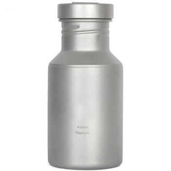 400ML Hot Sale Titanium Dirink Bottle With Bag Fruit Infused Water Bottle Outdoor Camping Sport Bike Water Bottle