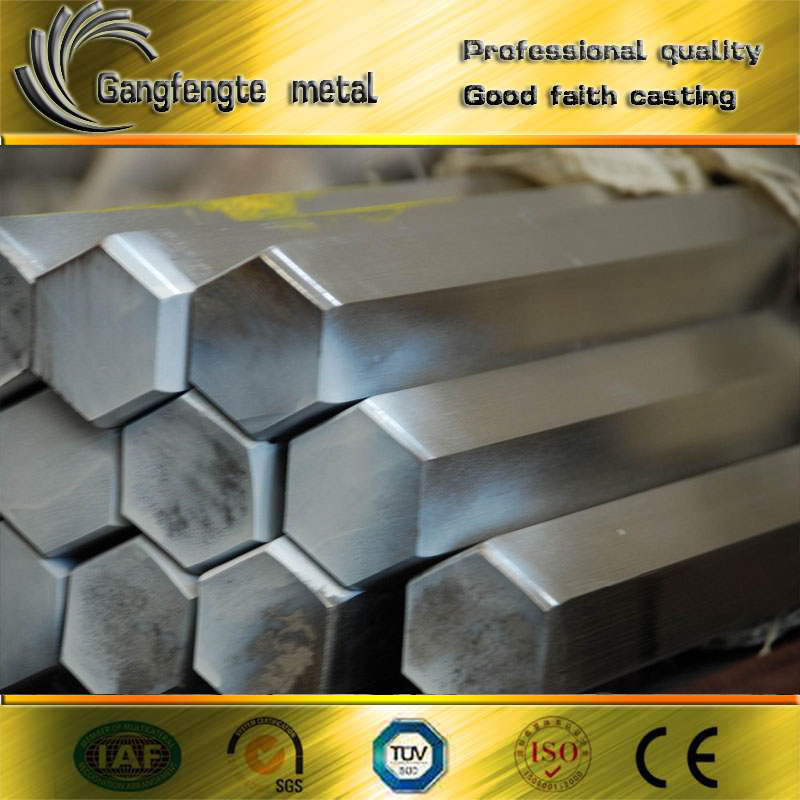 Factory price of astm17-4PH stainless steel hexagon bar sizes in stock