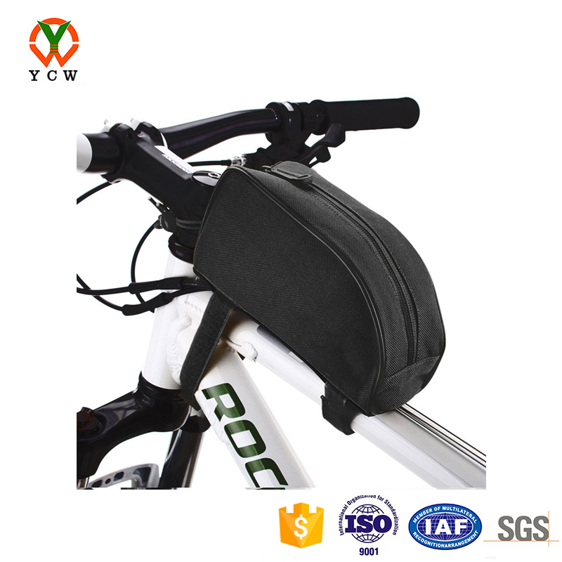 hot outdoor mountain bicycle cycling frame bike pouch front top tube bag