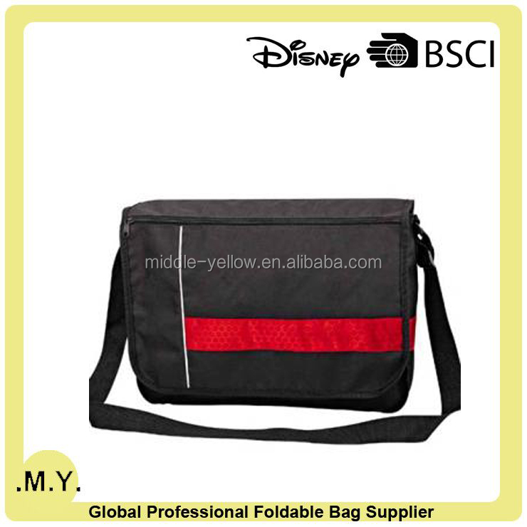 Nice Workmanship 600D polyester mens shoulder bags