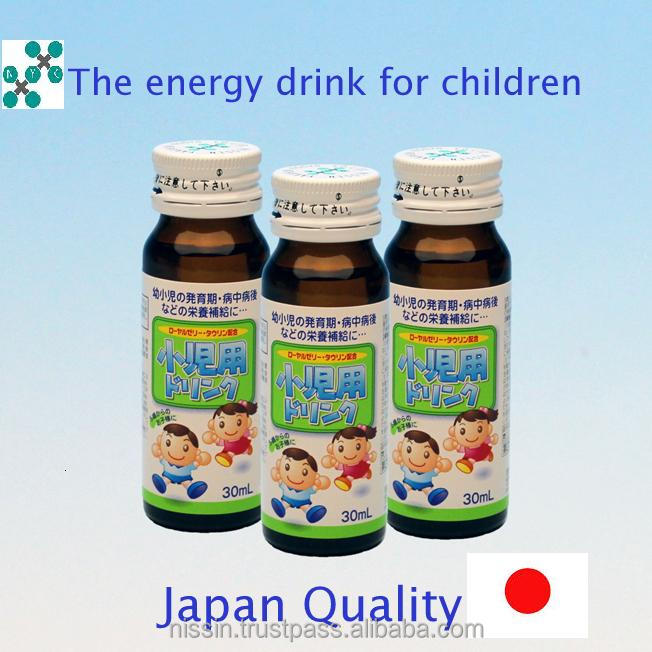 Energy drink for the juvenile of anagen