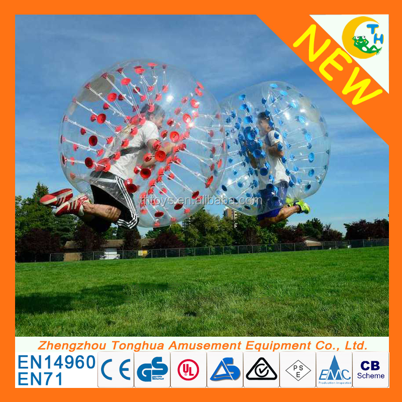 Factory directly sale cheap zorb ball bubble ball soccer bumper ball prices