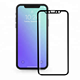 Full glue full coverage tempered glass screen protector 5d for iphone x screen protector