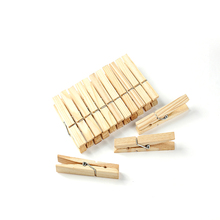 Eco-friendly small wooden clothes clips, wooden clip for clothes