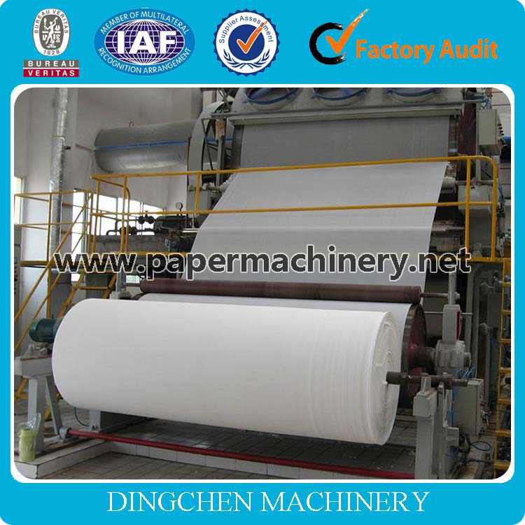 Small Investment 787 1tpd Toilet Paper/Kitchen Towel Making Machinery Facial Tissue Paper Machine