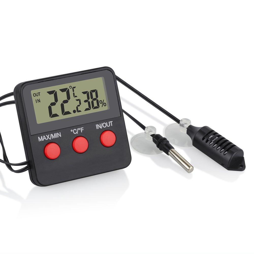Digital Incubator Fish Pet Animal  Room Thermometer Hygrometer Temperature and Humidity Meter Thermometer Aquarium Digital