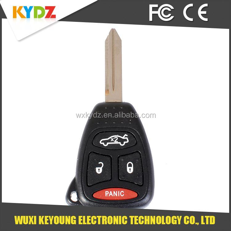 New Replacement Promotional Car Remote Key Keyless Fob Kobdt04a Oht692427aa  4 Button Fits 2005-2007 Chrysler 300 - Buy Car Remote Key