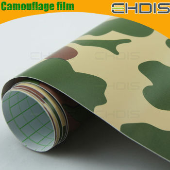 Camouflage wrap wholesale car full body vinyl sticker camouflage wrap camo film