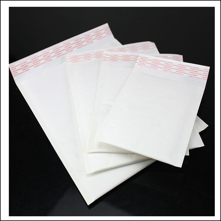 white kraft bubble mailer kraft shopping paper bag cushioned envelopes