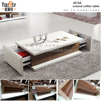 Chinoiserie Furniture Rosewood Furniture High Gloss White Coffee Table J812A