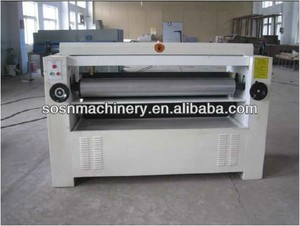 Plywood glue spreader / plywood glue roller spreading machine/wood glue machine