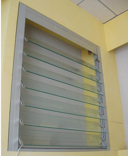 aluminium frame jalousie glass window and house window glass types