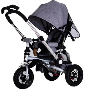 4 IN 1 Baby stroller Cheap baby stroller tricycle kids push tricycle wholesale