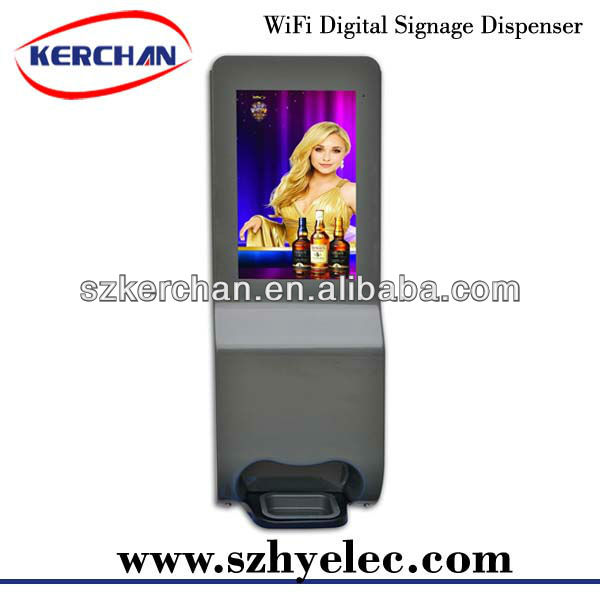 19 inch internet outdoor advertising digital led display screens