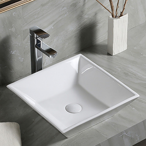 2018 Trending Products White Countertop Upc Ceramic Kitchen Sink