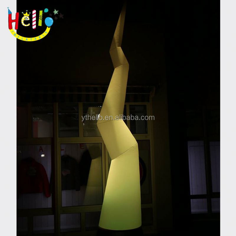 2015 New Brand Event Decoration Inflatable Cones with the Changable Led Lights