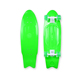 Fish shape Cruiser Plastic Skateboard Complete in 28 Inch Size