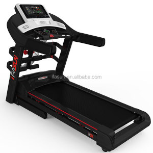 New 10.1 Inch Screen Multi Function Heavy Duty Motorized Home Use Commercial Folding Electric AC Treadmill