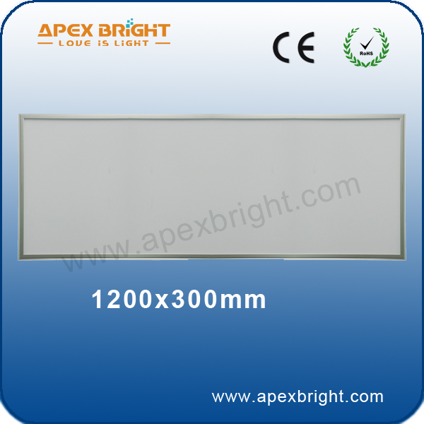 120X30CM XIAME factory IP41 led panel lighting