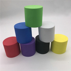 Customized closed cell solid eva foam roller in all colors