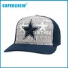 Wholesale Blue Five-Pointed Star Fitted Baseball Hat