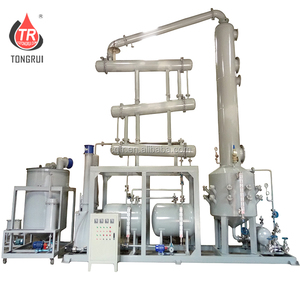 Engine Oil Distillation Equipment for Regenerating Used Motor Oil to Clean Diesel Oil Purifier Machine