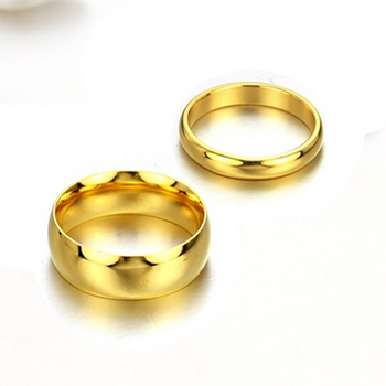 Wholesale Gold Filled Jewelry Gold Rings Without Stones Women