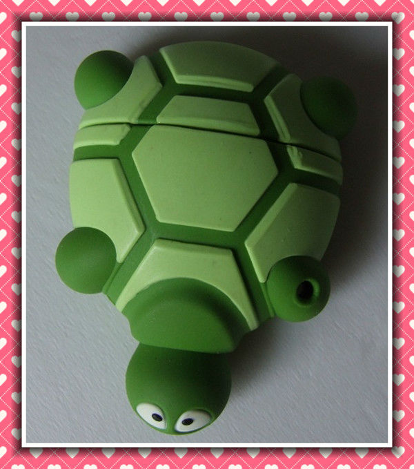 tortoise cartoon shape usb flash memory drive with custom logo turtle usb