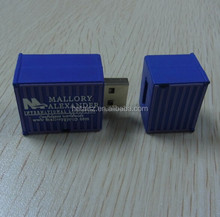 funny shape usb drive container,container shape usb stick