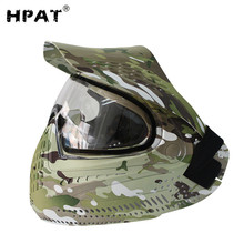 Anti-fog Paintball Full Face Mask