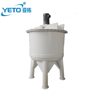 Chemical mixing vessel polypropylene anti-corrosive mixer tank with cheap price