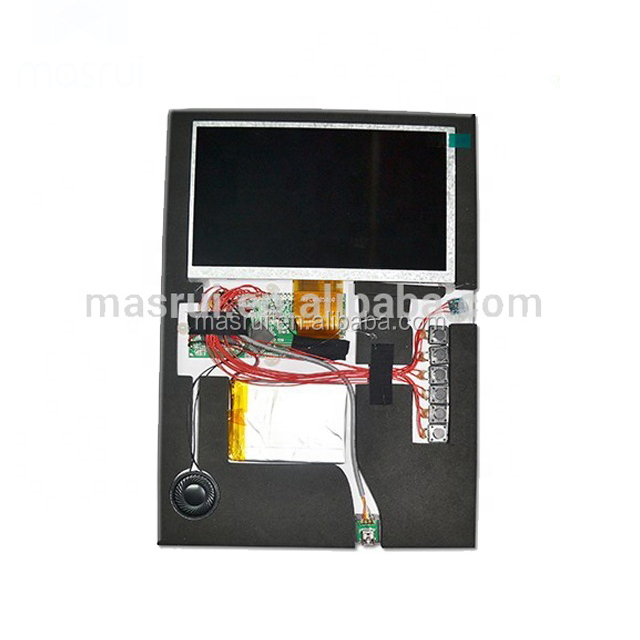 10.1 inch tft video chip module for lcd player greeting card