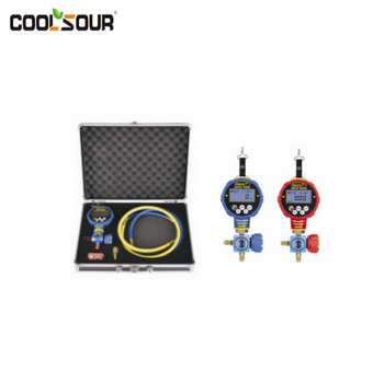 Coolsour Digital Manifold Gauge Set ,Pin Gauge Set
